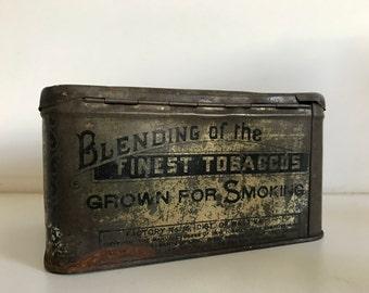 Antique The Richmond Mixture No 1 Allen & Ginter Richmond Virginia Tobacco Tin
