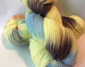 STAPLE Superwash merino lace yarn, At the Market
