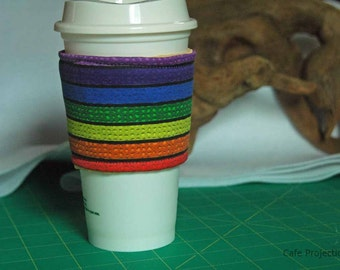 A Little Grout Rainbow - Coffee Sleeve #11