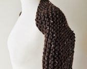 Chunky Brown Tweed Bolero, Short Sleeve Bolero, Outlander Inspired Knitwear