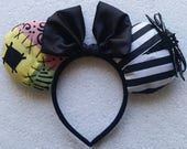 Nightmare Before Christmas Minnie Mouse Ears