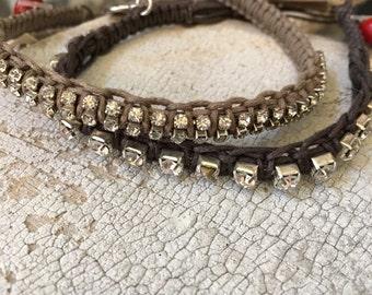 Stackable woven bracelettes 2