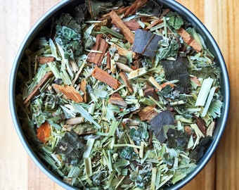 Hormonal Tea - Herbal Tea, Organic Herbs - Soothes and encourages hormonal balance using all natural ingredients