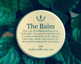 All Natural Multipurpose Scented Body Balm Salve - You choose scent