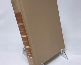 Book Letter Handmade Vintage Condensed Readers Digest Upcycled Tan C0037
