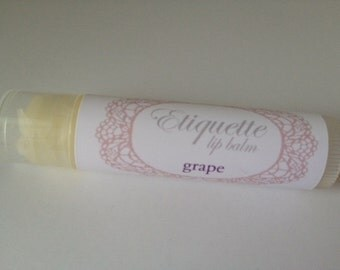 Grape Lip Balm
