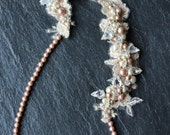 Pearl beaded headchain special discount