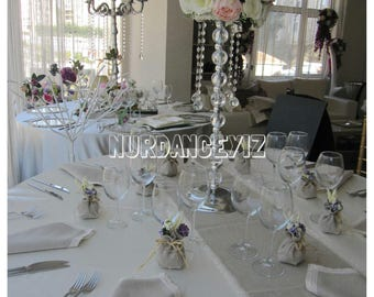 Table linens-Linen lace edge napkins-table decor--oatmeal linen cloth napkins- table runner custom party table setting-entartaining-dining