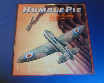 Humble Pie On To Victory Vinyl Record SD 38-122 Atco Records 1980