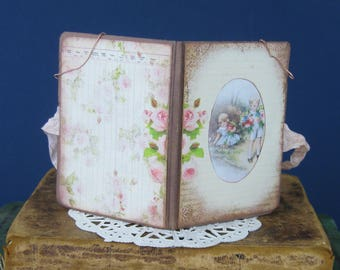 A Little Notebook: One of A Kind Handmade Journal by Artist Kit Cropper