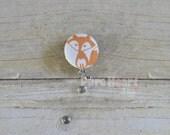 Fox Retractable ID Badge Clip