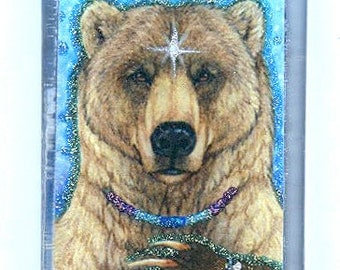 Stars Bear Art Pendant
