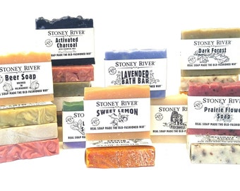 Soaps WHOLESALE,  handcrafted natural soaps, 40 soaps, labeled soap,  unlabeled, large soap bar, naked soap,soap sensitive skin,aromatherapy