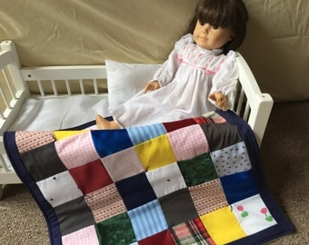 """American Girl Doll """"Memory"""" Quilt"""