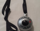 Santa Cam Ornament Necklace