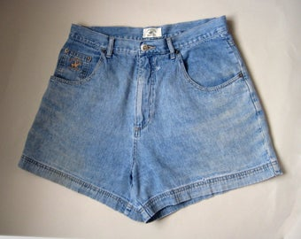 High Waisted Denim Shorts, High Waisted Shorts, High Waisted Cut Off Shorts, Beverly Hills  Polo Club Shorts, High Waisted Jean Shorts,