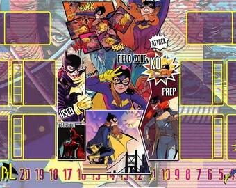 Batgirl Dice Masters Play Mat