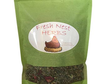 Fresh Nest Herbs for Chickens and Coops 4 oz