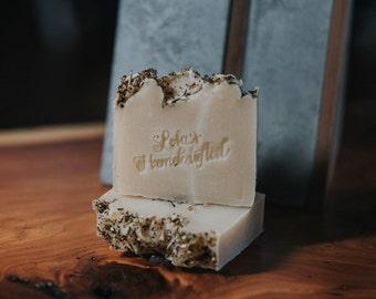 Chai-Kaolin clay- All Natural  Clove- Cold Process VEGAN Artisan Soap