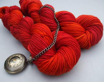 Soft Socks Heavy Yarn. Forever Autumn in My Heart