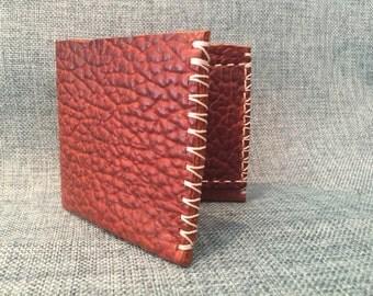 Cognac Laredo Bullhide Bifold Wallet