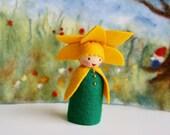 Daffodil child / flower child / Root children / Waldorf