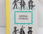 Vintage Children's Book Animal Stories Tales of the old Plantation Harris 1954