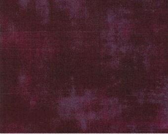Fabric by the Yard- Grunge Basics in Fig- by Basic Grey for Moda