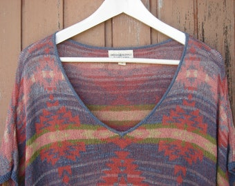 Ralph Lauren Denim & Supply Southwestern Sweater // Aztec Short-Sleeve Tunic