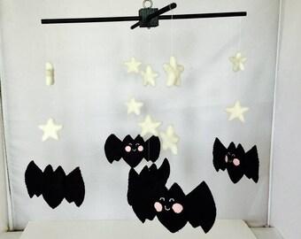 Bat mobile for Baby Crib