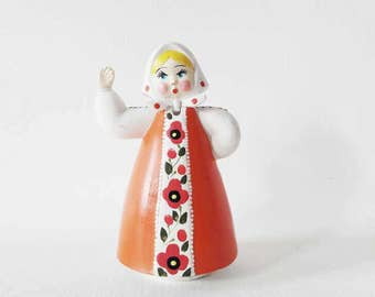 Vintage Soviet Dancing Matrioshka Doll