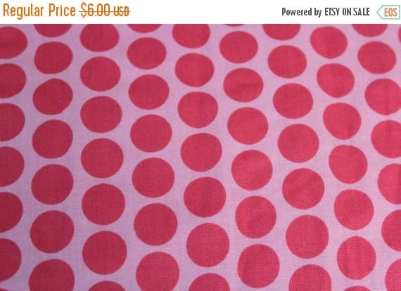 Pink Polka Dot Fabric,Pink Tone on Tone Polka Dot Fabric,JoAnn Fabrics,100% Cotton,Quilt Fabric,Apparel Fabric,Craft Fabric,By The Yard