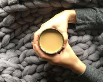 chunky knit merino wool blanket free shipping ready to ship dark grey