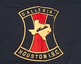 Vintage Galleria Houston I.S.C Royal Blue T-Shirt