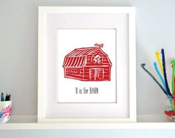 B is for Barn