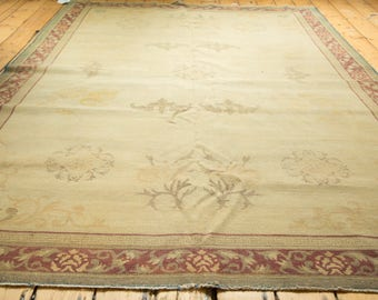 6x9 Distressed Indo Chinese Carpet