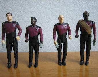 Vintage Star Trek Figures : The Next Generation   1988