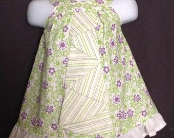 Baby girl summer dress, OOAK