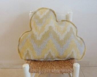 Cloud cushion wool blanket pillow cloud pillow