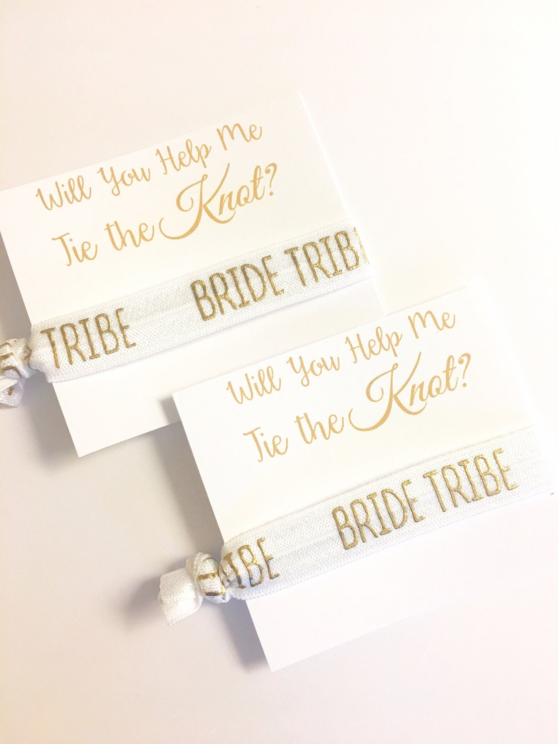 Bridesmaid Gift - Tie the Knot Bridesmaid Gift - Will you be my ...