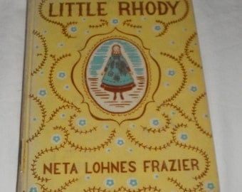 Little Rhody by Neta Lohnes Frazier vintage hardback book ex-library