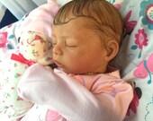 Reborn Bundle Baby Cozy Sleeping Newborn Girl READY TO SHIP