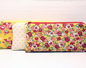 Cash Envelope System - Cash Budget System - 3 Cash Budget Envelopes with Zippers - Ready to Ship