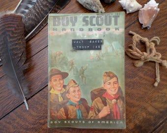 1965 Vintage Boy Scout Handbook W Baker