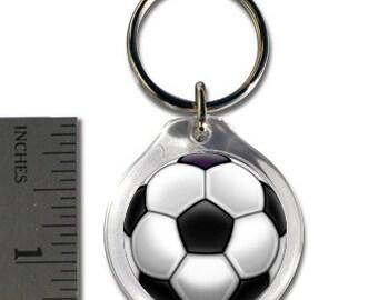 Small Soccerball Keychain
