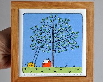 Lillian Vernon - Seasons Tile - Set of 4