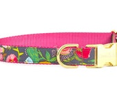 Crew LaLa™ Harvest Floral Dog Collar