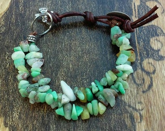 Natural Chip Stone Bracelet