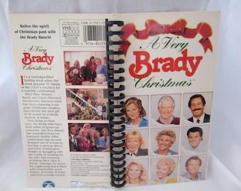 A Very Brady Christmas VHS Notebook