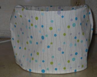 Bubble Stripe KitchenAid Mixing Bowl Cover, Handmade, Kitchen Decor
